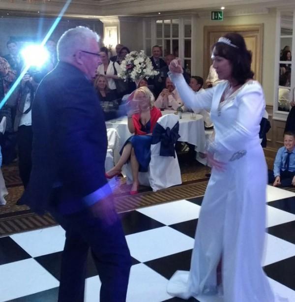 The Kicks Billie and Jamie's Wedding April 2017 4